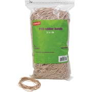 "Staples® Rubber Bands, #19, 3 1/2"" x 1/16"", 1,640/bag, 25 bags/Ct"