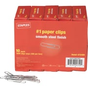 Staples® #1 Size Paper Clips