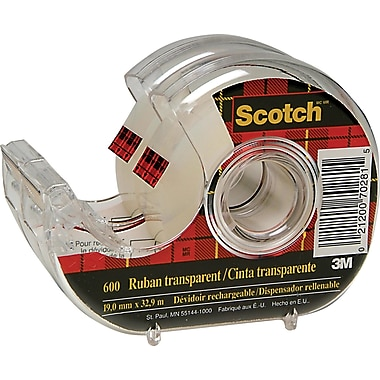 Scotch™ Transparent Tape with Dispenser