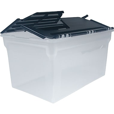 Staples® Legal and Letter File Box with Winged Lid