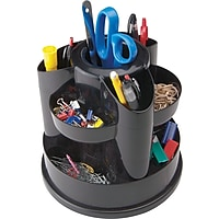 Staples 10604-CC 10 Compartment Rotating Desk Organizer Deals