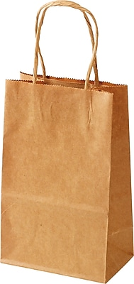 """""Staples Debbie 08-3/4""""""""H x 05-3/4""""""""W x 13-3/4""""""""D Kraft Shopper (140806138)"""""" 697750"
