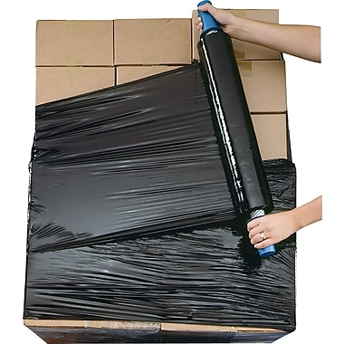 Black Opaque Goodwrappers® Stretch Wrap Systems, 80 Gauge, 20