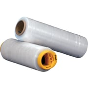 "Hand Stretch Wrap Film, Cast, 47 Gauge, 16"" x 1476', Clear,  4 rolls/case (XH40612WB)"