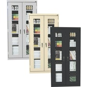 """Sandusky Stationary Expanded Metal Front Cabinets, 72""""H x 46""""W"""