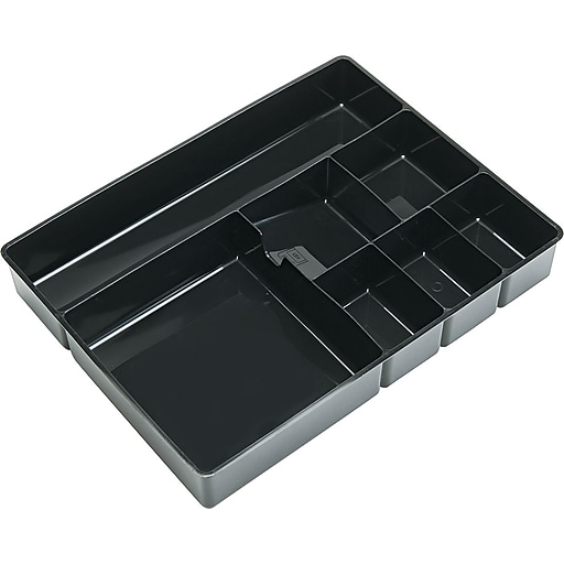 Deep Multipocket Desk Drawer Organizer 7 Compartments