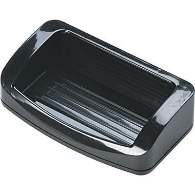 OIC® 2200 Series Black Plastic Business Card/Clip Holder