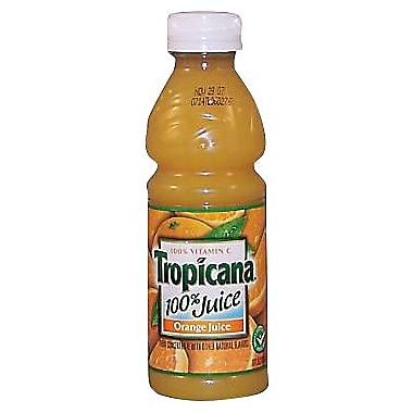 Tropicana® Orange Juice, 10 oz. Bottles, 24/Case
