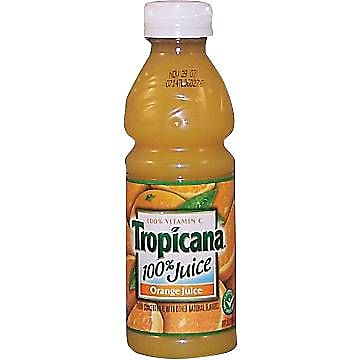 Tropicana® Orange Juice, 10 oz. Bottles, 24/Case