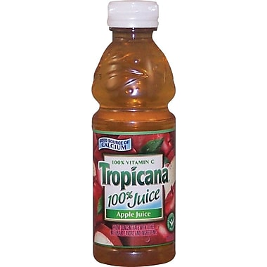 Tropicana® Apple Juice, 10 oz. Bottles, 24/Case