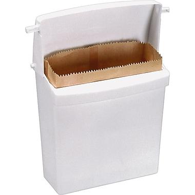 RubbermaidMD ® Contenant pour serviettes hygiéniques, blanc