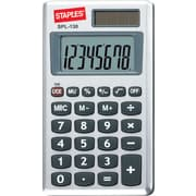 Basic calculators simple function calculators staples staples spl 130 cc 8 digit display calculator ccuart