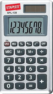 Staples® SPL-130-CC 8-Digit Display Calculator