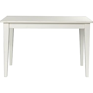 Carolina Cottage Wood/Veneer Side Table, White, Each (3048PT-AP)