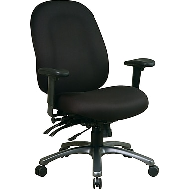 office star fabric computer and desk office chair, black