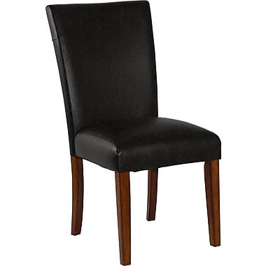 Carolina Cottage Manhattan Black Leatherette Chair