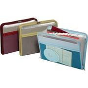 Globe-Weis® - Fichier accordéon en nylon, 13 poches
