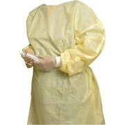priMED Impervious Isolation Gowns, Universal Fit, 10-Pack