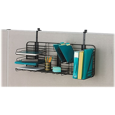 Safco Gridworks Cubicle Organizer Charcoal Each 4100ch