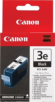 Canon BCI-3eBK Black Ink Cartridge (4479A003)