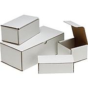 "Staples Crushproof Mailers, 6"" x 4"" x 2"", White, 100/Bundle (62-060402)"