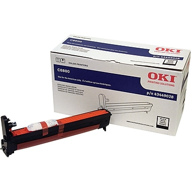 Okidata 43449028 Black Drum Cartridge