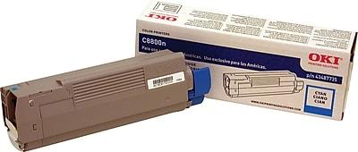 Okidata 43487735 Cyan Toner Cartridge
