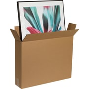 "Corrugated Boxes, 28"" x 5-1/2"" x 38"", 10/Bundle"