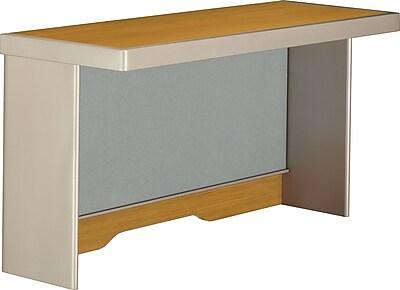 Bush Business Furniture Quantum 48W Hutch (Short), Modern Cherry (QT1475MC)