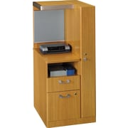 Bush Business Furniture Quantum RH Storage Tower, Modern Cherry (QT2826MCKFA)