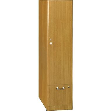 Bush Business Furniture Quantum Storage Tower (Tall), Modern Cherry (QT288FMCFA)