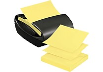 Post-it® Pop-up Note Dispenser for 3' x 3' Notes, Charcoal Gray Dispenser (PRO330)
