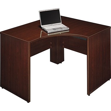 Bush Business Furniture Quantum 48W X 42D LH Corner, Harvest Cherry (QT0455ACS)