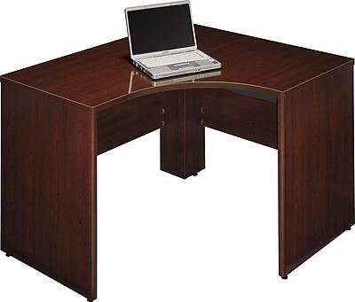 Bush Business Furniture Quantum 48W X 42D LH Corner, Harvest Cherry (QT0455ACS)