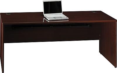 Bush Business Furniture Quantum 72W Credenza Shell, Harvest Cherry (QT4725ACS)