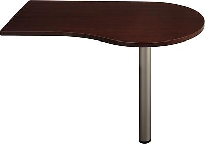 Bush Business Furniture Quantum 48W d Peninsula, Harvest Cherry (QT7465ACS)