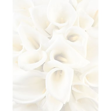 Great Papers® White Calla Lilies Letterhead 80 count