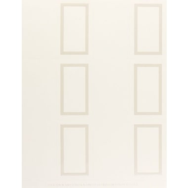 Great Papers® Pearl Border Place Cards, Ivory