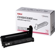 OKI® 42126602 Image Drum for C5100, C5300 Printers, Magenta