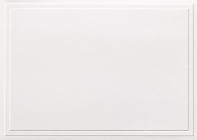 Great Papers® Triple Embossed White Note Cards with Envelopes