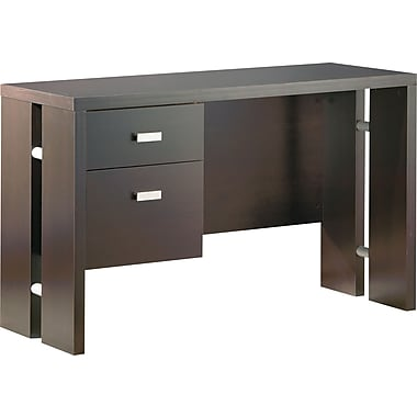 South Shore - Bureau de la collection Element, fini chocolat sans limite