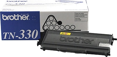 Brother Genuine TN330 Black Original Laser Toner Cartridge