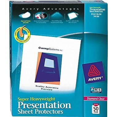 Avery® Super Heavyweight Presentation Sheet Protectors
