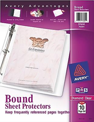 Staples 392759 Secure-Top Sheet Protectors 25//Pack 15953