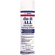 Dymon Germicidal Foaming Cleaner/Disinfectant/Deodorizer, Unscented, 18 oz. Spray (ITW08020)