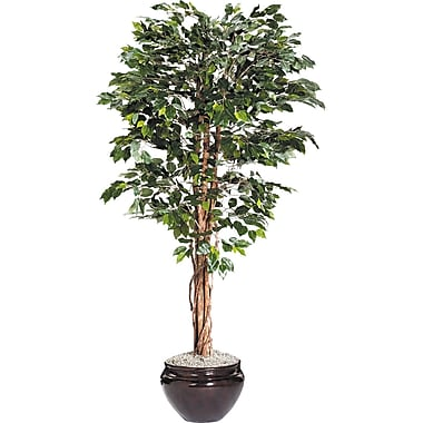 NuDell Artificial Ficus Tree, 6 ft (T7781)