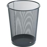 """Eldon Mesh Wastebasket, 3 1/2 Gallons, Black, 14 1/4""""H x 11 1/2""""W x 11 1/2""""D"""
