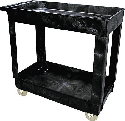 Rubbermaid Service/Utility Cart, Black