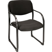 Regency Legacy Black Fabric Reception Chair