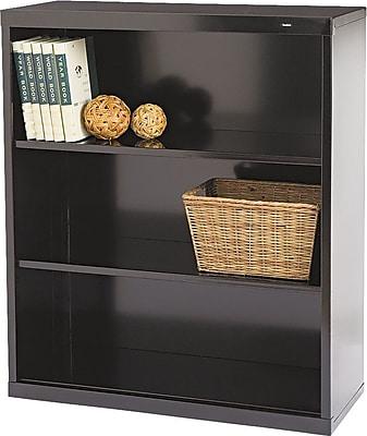 Tennsco Metal Bookcases, 3-Shelves, 40